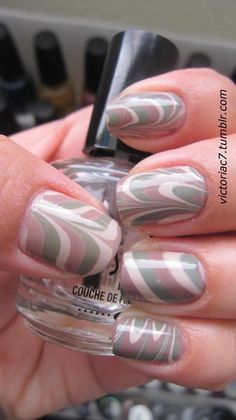 more marbled nails!