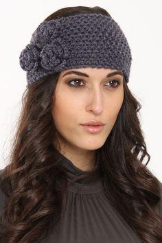 Three Flower Embroidery Solid Headband