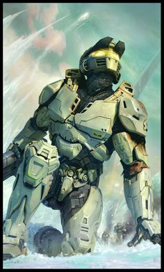 I think I'll always have a soft spot in my heart for the Master Chief. Too bad he isn't a Marine, just Naval Special Ops.