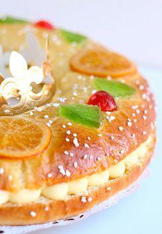 Tortell de Reis. (Kings' Cake) a Traditional Christmas Cake in Catalonia | Europe