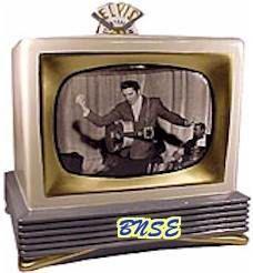 Elvis 1950's TV Cookie Jar