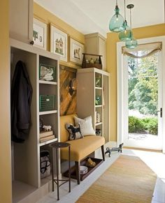 Entryway Storage on Pinterest