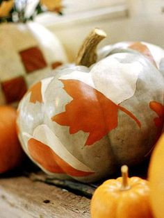 Pumpkins add stylish, creative and fun touches to fall decorating. Try our techniques for creating pumpkins with personality!