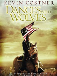 Dances with Wolves is a 1990 American epic western film directed, produced by, and starring Kevin Costner. It is a film adaptation of the 1988 book of the same name by Michael Blake and tells the story of a Union Army lieutenant who travels to the American frontier to find a military post, and his dealings with a group of Lakota Indians. enemies, western books, whitney houston, challenges, western films, western movies, favorit movi, dances with wolves movie, kevin costner westerns movies