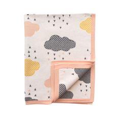 Peach Rainy Day Blanket - via DTLL.