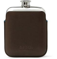 shoes, flask 425, accessoriesleathercas hip, paul smith, flasks, accessori leathercas, smith shoe, hip flask, 1men accessori