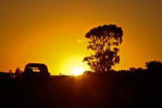 Knysna, South Africa beauti place, sunset