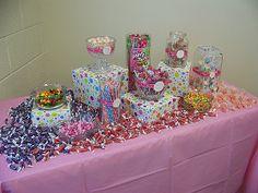 mesas de dulces para fiestas y eventos