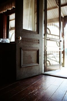 Beautiful old doors...