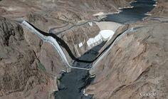 Arizona Nevada Google earth anomalie  Les petits bugs de Google Earth