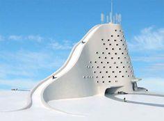 Michael Jantzen's ski hotel