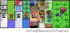 Pokemon Game Evolution!!