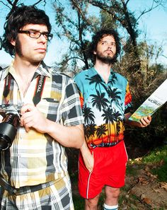 jemaine and bret of flight of the conchords