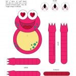 Wiggle Frog – Printable Craft for Kids