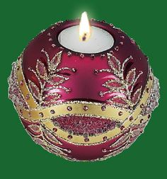Rose Tea Light Candle Holder, Collectibles :: Holiday & Seasonal :: Bullszi.com