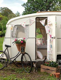 sewing projects, caravan decor, vintage caravans