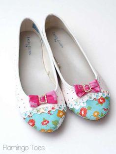 Adorable shoe makeover! Nx
