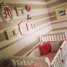 Baby girl nursery www.setapartdesigns.com