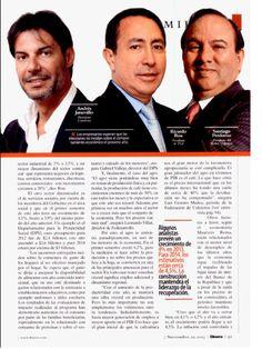 Artículo El vaso medio lleno. Especial de la Revista Dinero.  Andres Jaramilllo Lopez de Conalvias.
