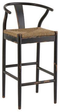 Wishbone bar stools and counter stools