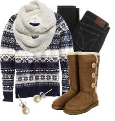 """""""Jacquard-Knit Jumper"""" by qtpiekelso on Polyvore"""