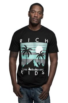 """""""Rich Night"""" tee from 2013 Summer collection. Just dropped today!"""