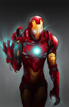 Iron Man by Yingjue Chen