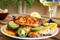 Grilled Tequila Lime Chicken with Marinade