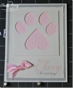 pet sympathi, pet sympathy cards, print card, dog paw, card pet, pet loss, sympathi card