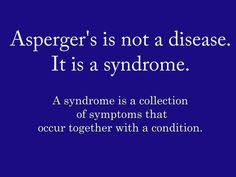 Aspergers...a good reminder.