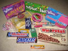Sweet Treats - Little notes to go with candy bars