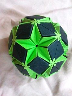 Star Planet Kusudama by shwetaec on deviantART