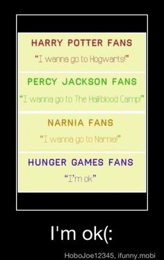 LOL. Where 'Hunger Games' fans want to go...