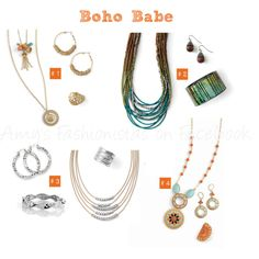 Bohemian Style   Jewelry by lia sophia. Email me for more info getglamourizednow@gmail.com