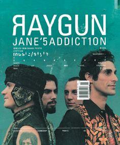 Ray Gun Jane's Addiction #magazine #cover