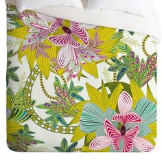 DENY Designs Sabine Reinhart Life Is Music Duvet Cover | Wayfair