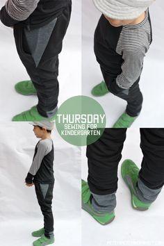 Sewing For Kindergarten// petitapetitandfamily.com boy cloth, sew inspir