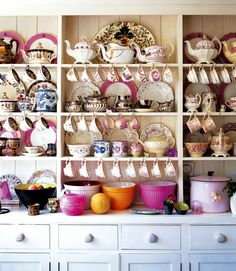 A Perfect Tea Cupboard.