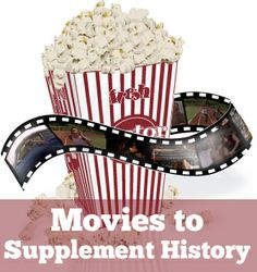 Movies to supplement history- cool lists