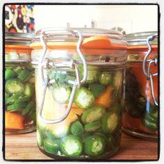 Pickled Jalapenos  @A Whole Lotta Love-Fed.com