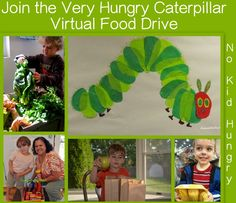 Very Hungry Caterpillar Virtual Food Drive to Help Very Hungry Kids from The Good Long Road