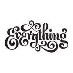 Everything  - Jessica Hische