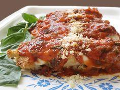 Healthy Chicken Parmesan #healthy #quick