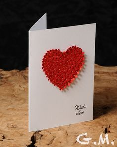 Valentine Card ,Wedding card , Just Because - I Love You - Wedding - Anniversary Unisex greeting cards