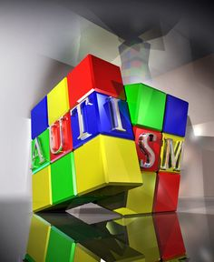Life with autism can feel like a Rubix Cube where the sides never, ever match. You keep manipulating the sides, but can never solve the puzzle. Do your part, raise awareness.