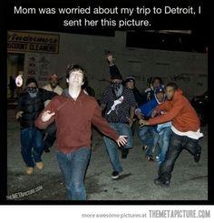 Calming down mom…