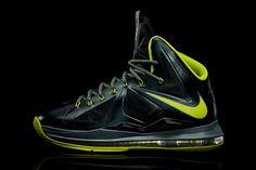 "Nike LeBron X ""Dunkman"" #sneaker #nike #lebron #miamiheat #dunkman"