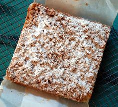 Sweet Flours: new york style crumb cake