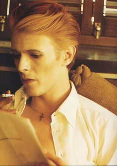 David Bowie.  JUST CAN'T GET ENOUGH!