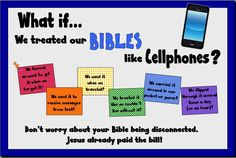 Bibles and Cellphones